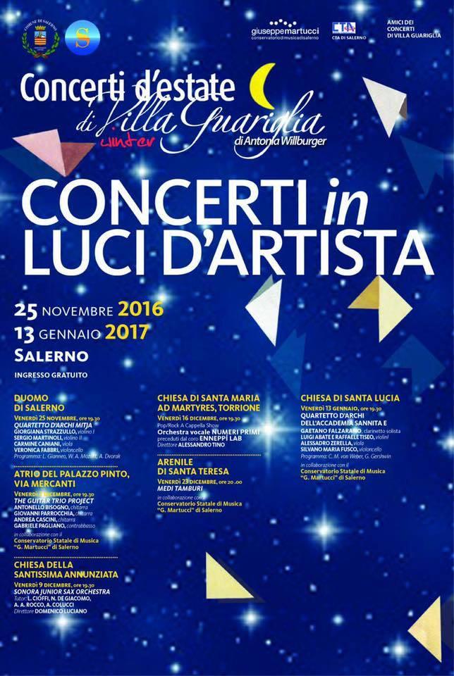 "I""Concerti in Luci D'Artista"" di Antonia Willburger nei"