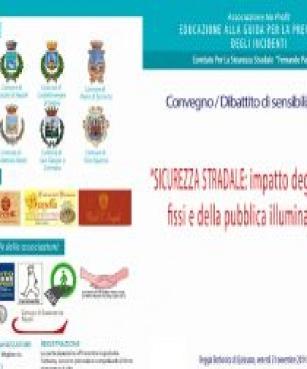 """Reggia Borbonica di Quisisana  """"Sicurezza stradale: impatto degli ostacoli fissi e della pubblica illuminazione"""""""
