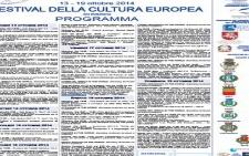 Prende il via la dodicesima edizione del Festival della cultura europea